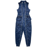 AIR JORDAN WOMEN'S FLIGHT SUIT - NAVY