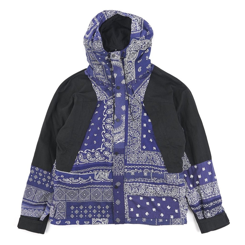READYMADE MOUNTAIN PARKA (BANDANA) - NAVY