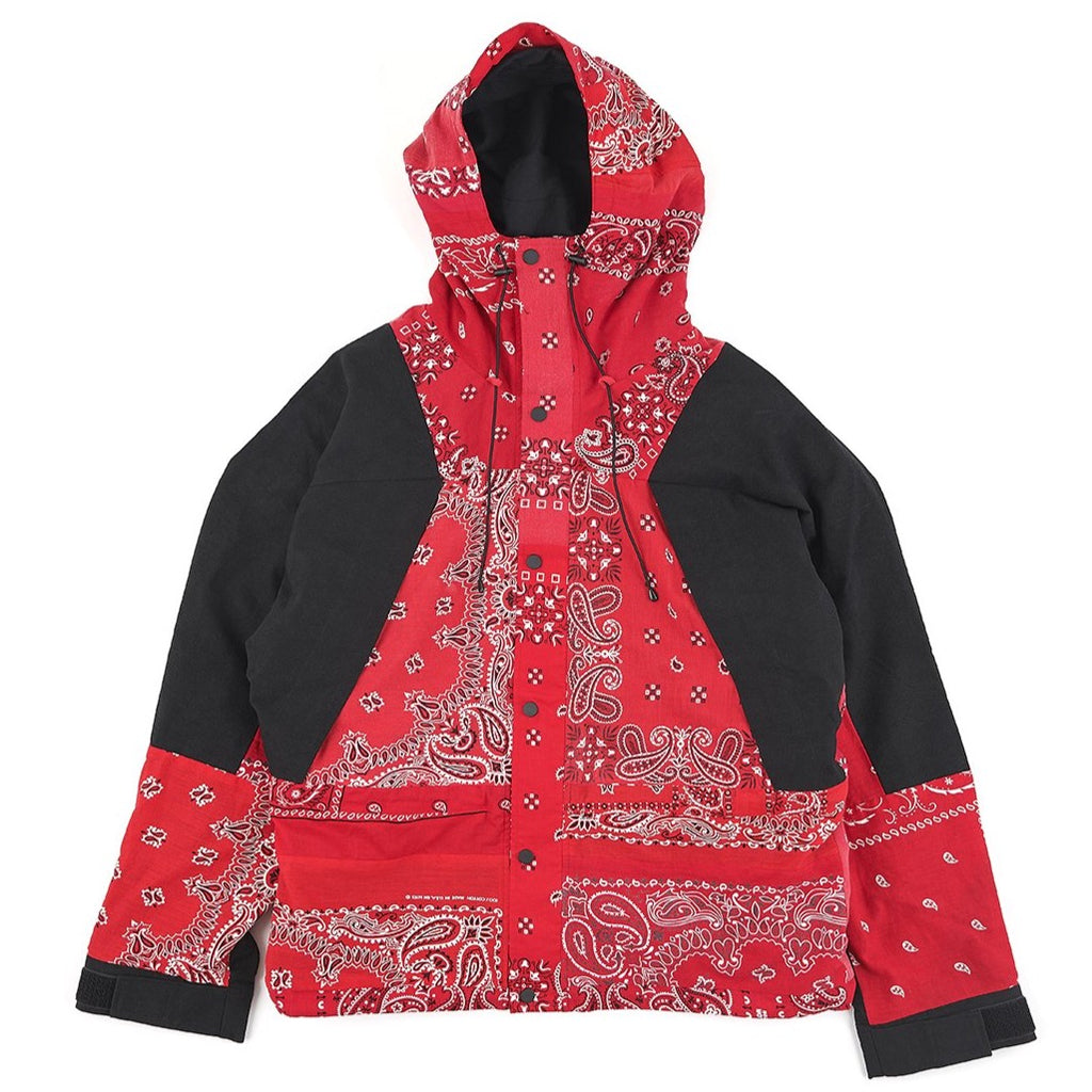 READYMADE MOUNTAIN PARKA (BANDANA) - RED