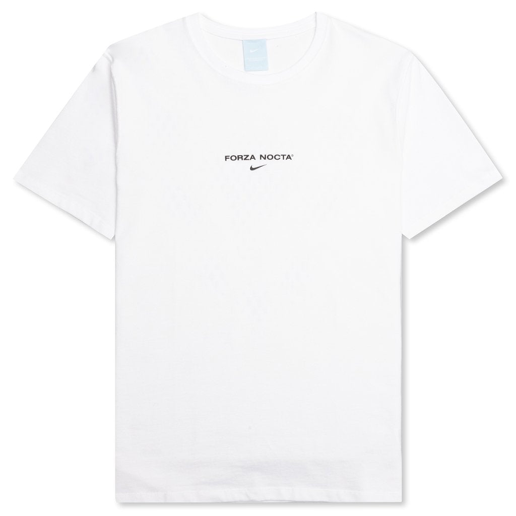 NIKE X NOCTA T-SHIRT - WHITE/BLACK