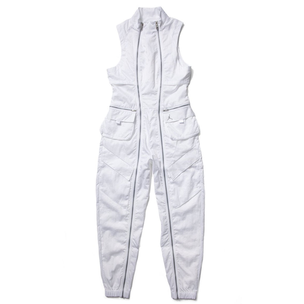AIR JORDAN WOMEN'S FLIGHT SUIT - WHITE