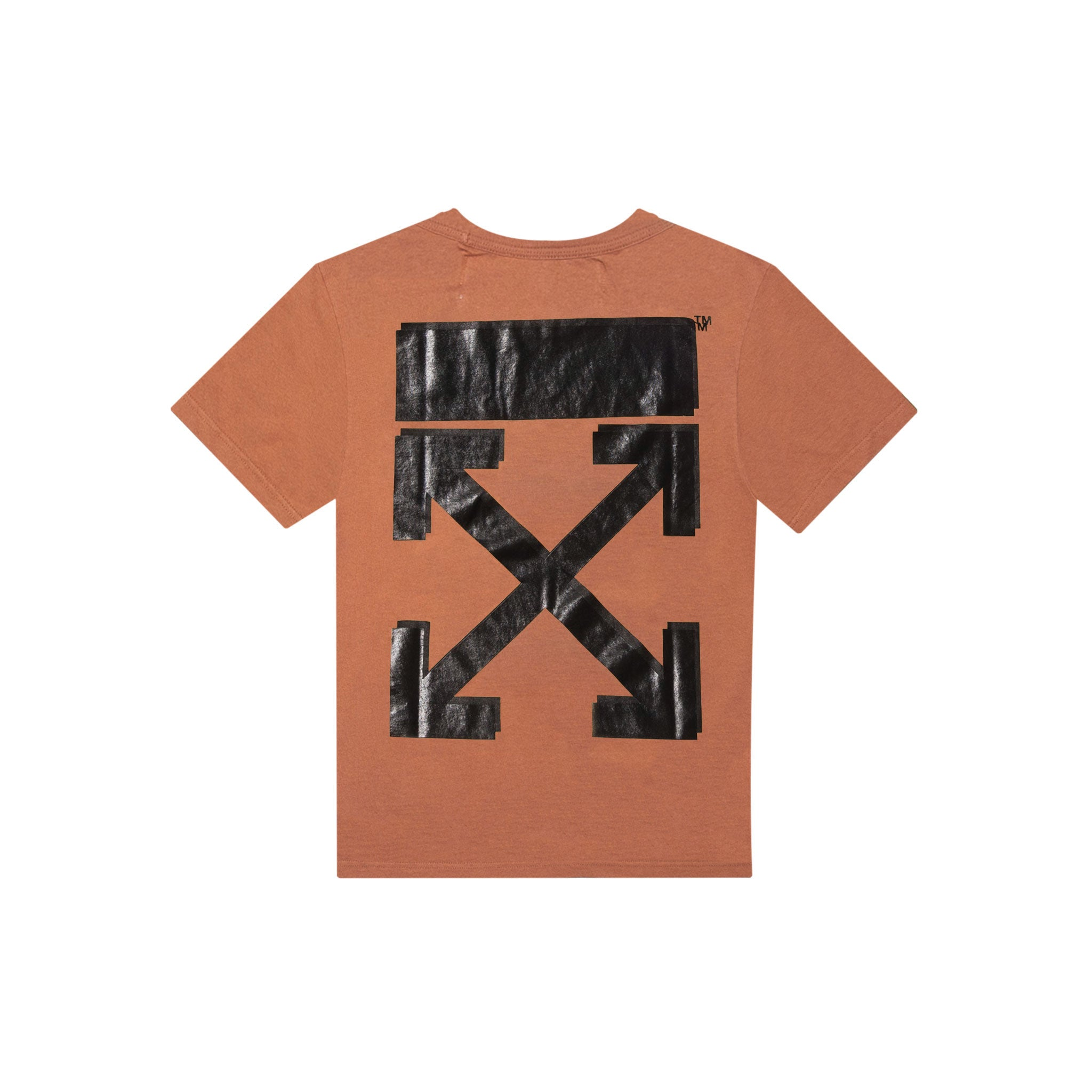 CHAMPION SHORT SLEEVE TEE - BROWN