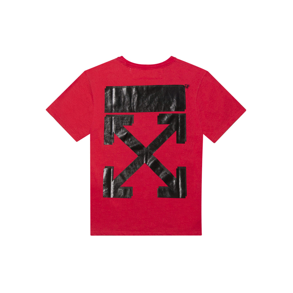 CHAMPION SHORT SLEEVE TEE - RED