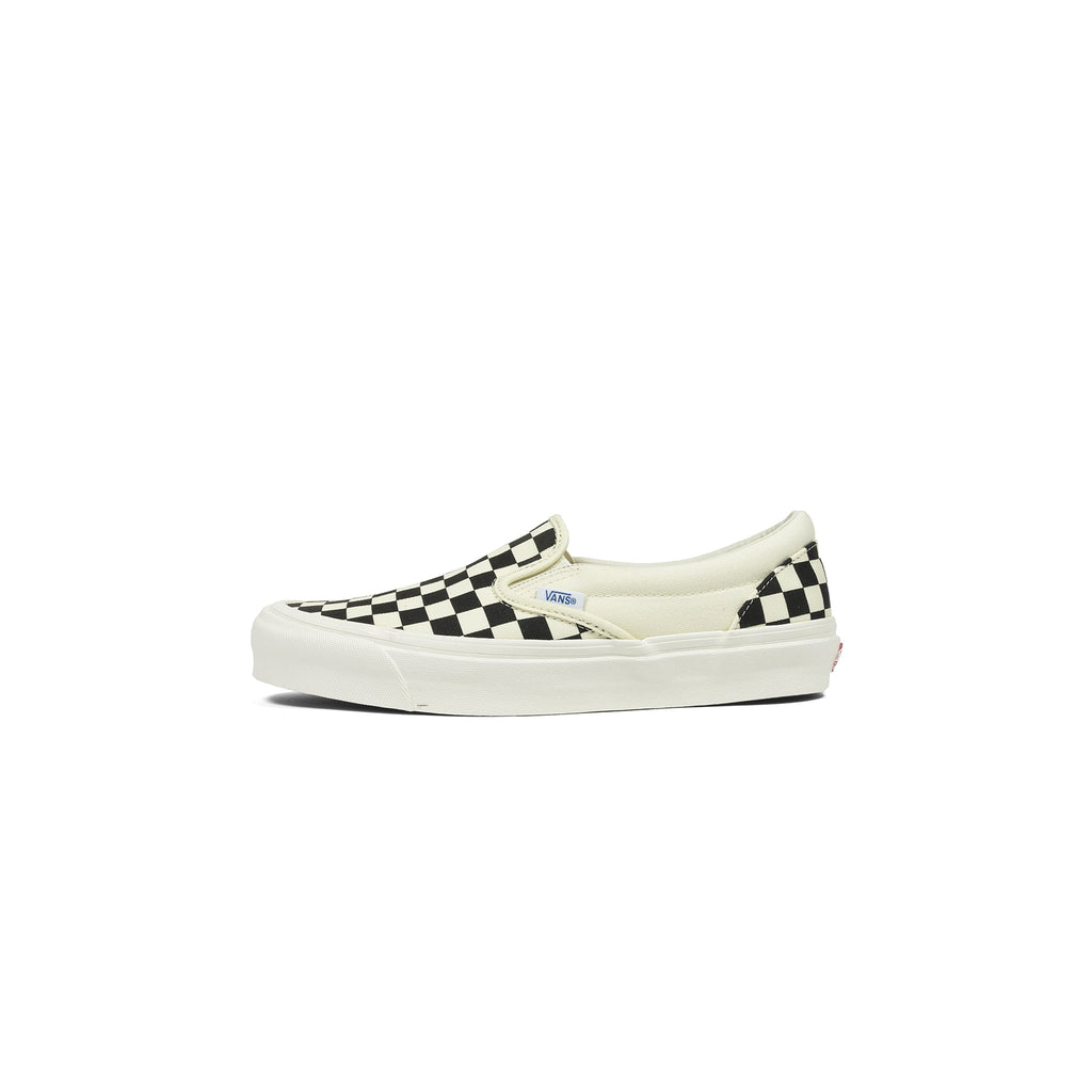 VANS OG CLASSIC SLIP-ON - BLACK/ WHITE CHECKERED