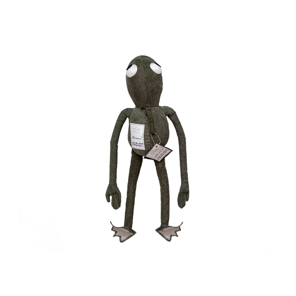 READYMADE FROGMAN W/ PEACE EYES - GREEN