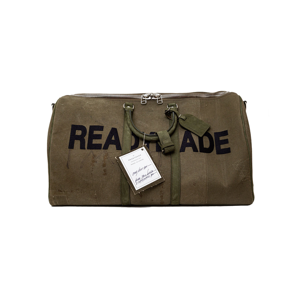 LARGE OVERNIGHT BAG - GREEN