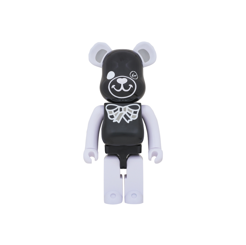 Medicom FREEMASONRY × fragmentdesign Be@rbrick 1000% - BLACK