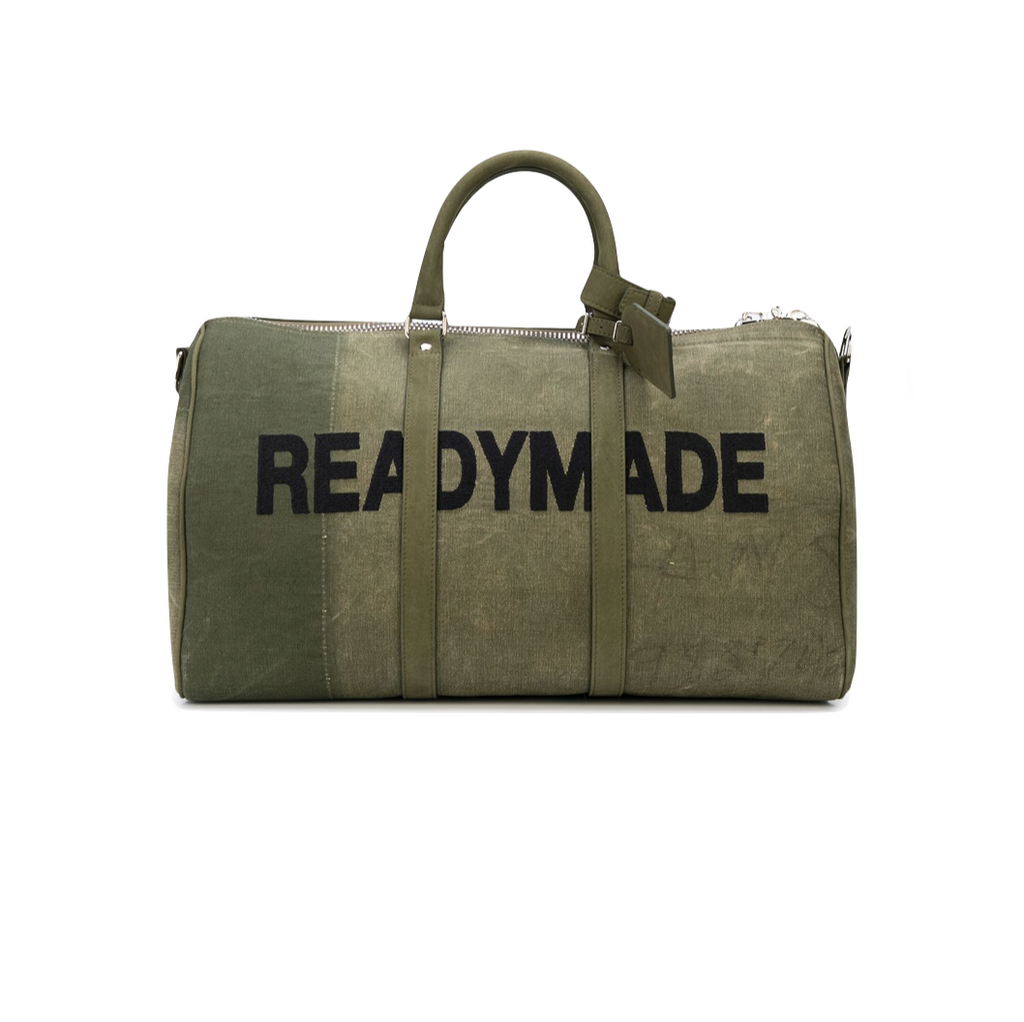 READYMADE LARGE OVERNIGHT BAG - GREEN