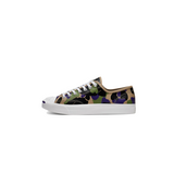 CONVERSE CAMOUFLAGE-PRINT LEATHER JACK PURCELL OX