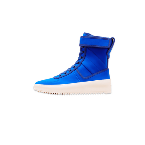 FEAR OF GOD MILITARY SNEAKER - ROYALE BLUE NYLON