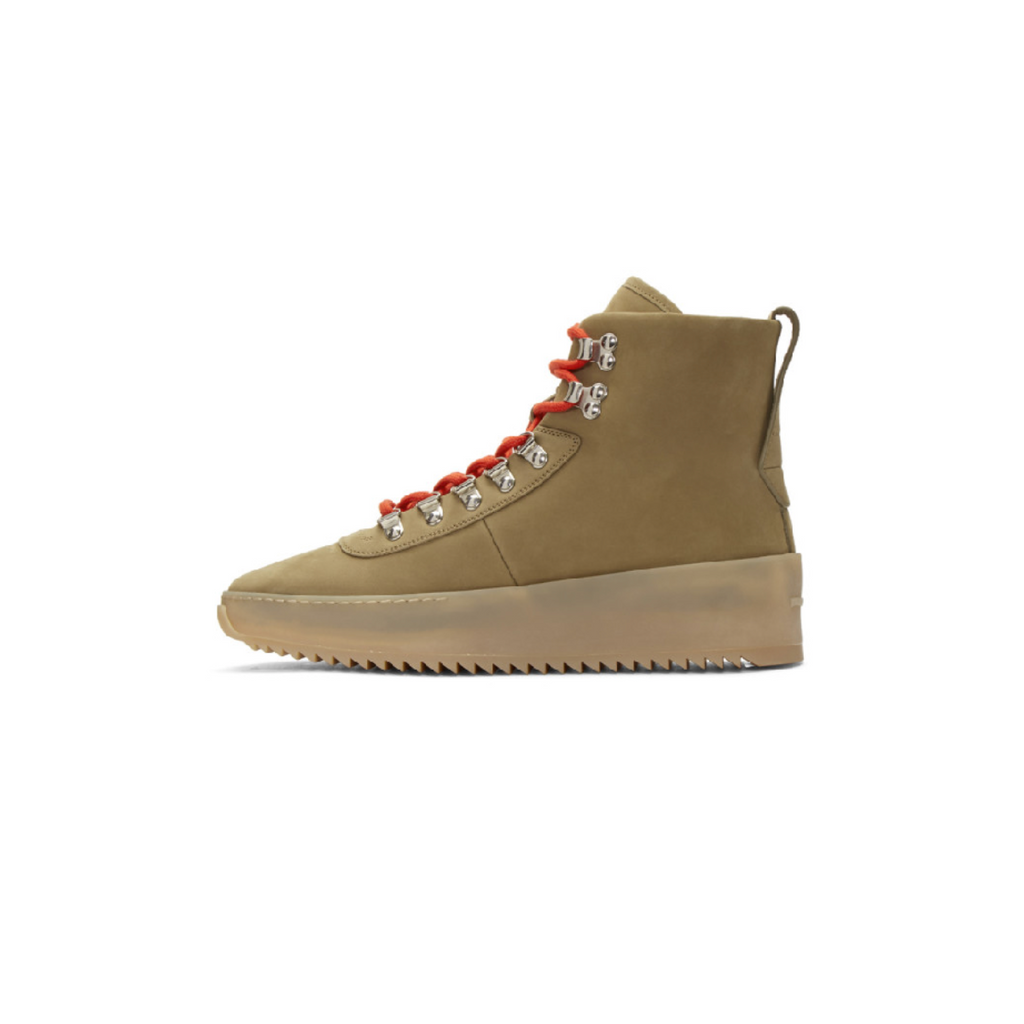 FEAR OF GOD HIKING SNEAKER - STONE NABUK