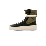 FEAR OF GOD JUNGLE SNEAKER - NERO+FOLIAGE LEATHER
