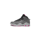 AIR JORDAN 10 RETRO GS - DARK SMOKE GREY/ RUSH PINK