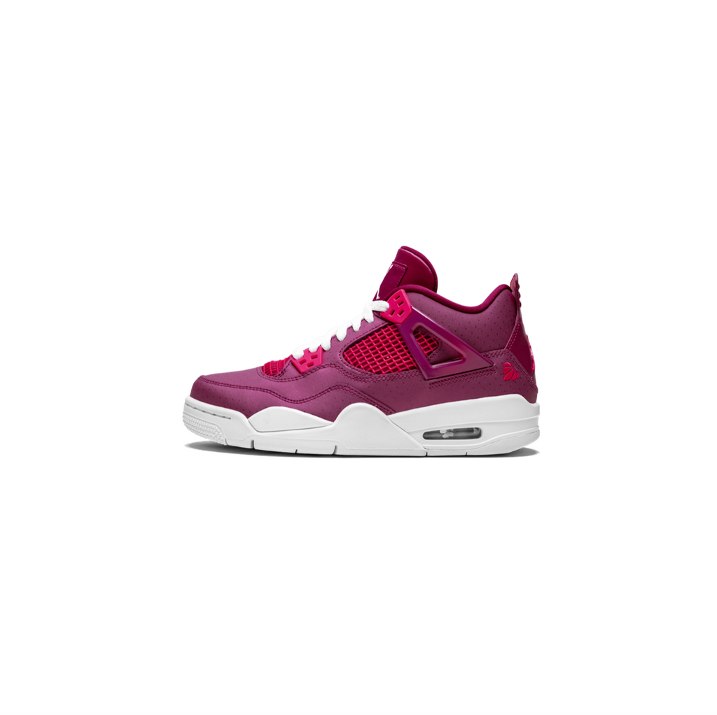 AIR JORDAN 4 RETRO GS - TRUE BERRY/ RUSH PINK/ WHITE