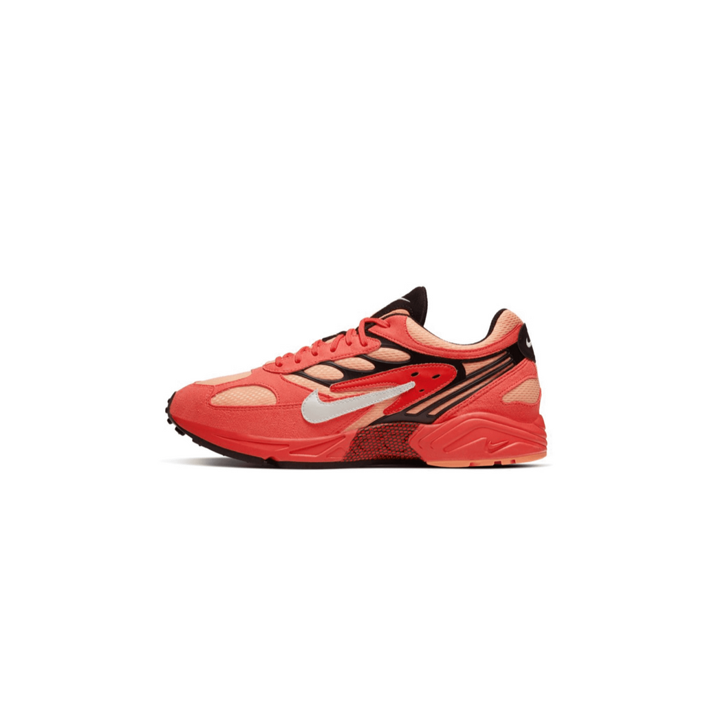NIKE AIR GHOST RACER - BRIGHT CRIMSON/ SAIL/ BLACK