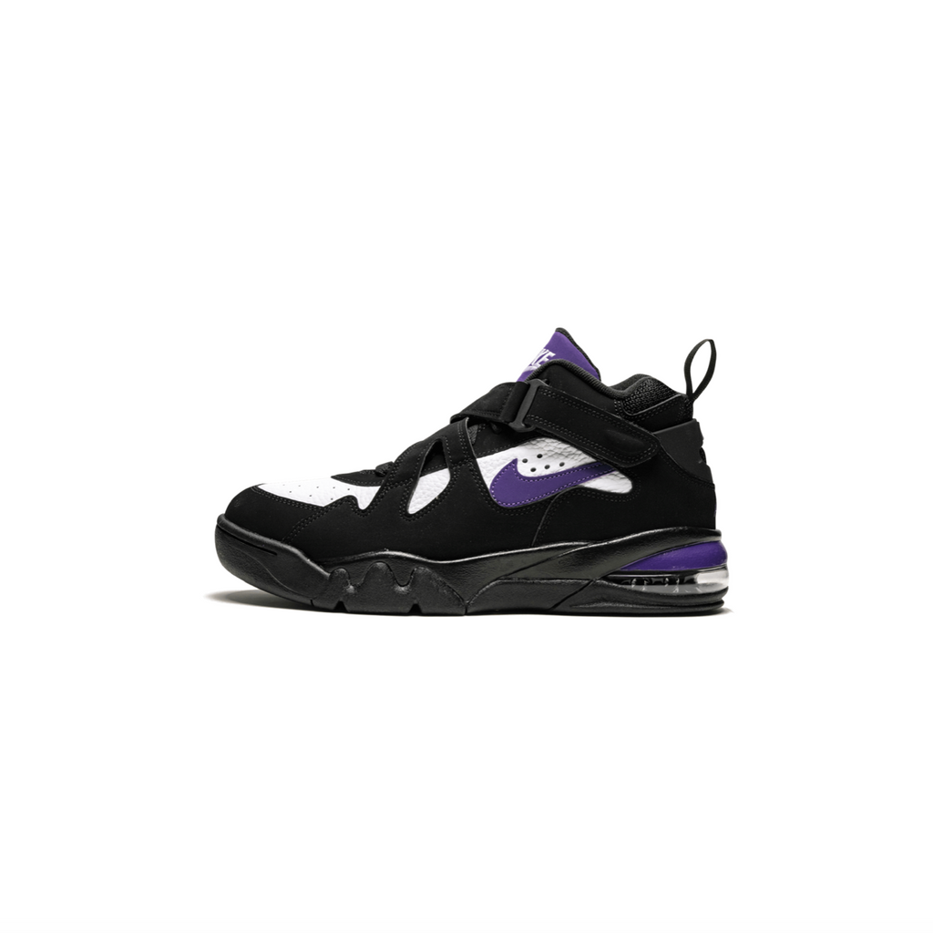 NIKE AIR FORCE MAX CB - BLACK/ COURT PURPLE