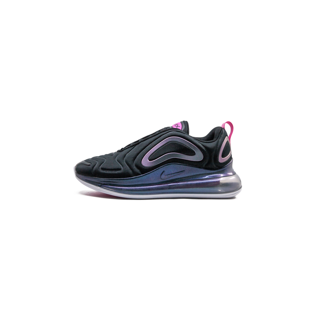 NIKE WOMEN'S AIR MAX 720 SE - BLACK/ LASER FUCHSIA