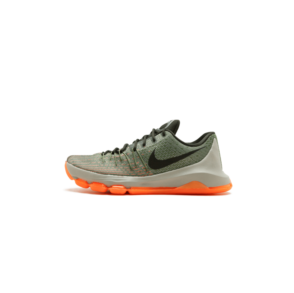 NIKE KD 8 - LNR GREY/ SQ-ALLGTR/ BRGHT CTRS