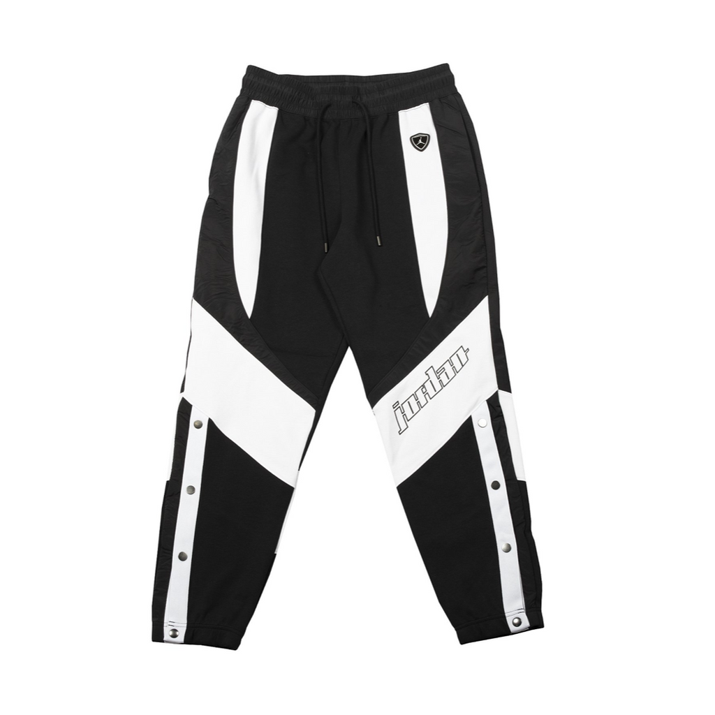 AIR JORDAN WOMEN'S MOTO SWEATPANT - BLACK/ WHITE