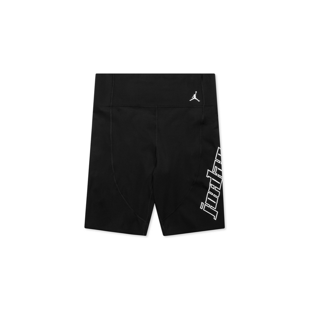 AIR JORDAN WOMEN'S MOTO SHORT - BLACK/ WHITE