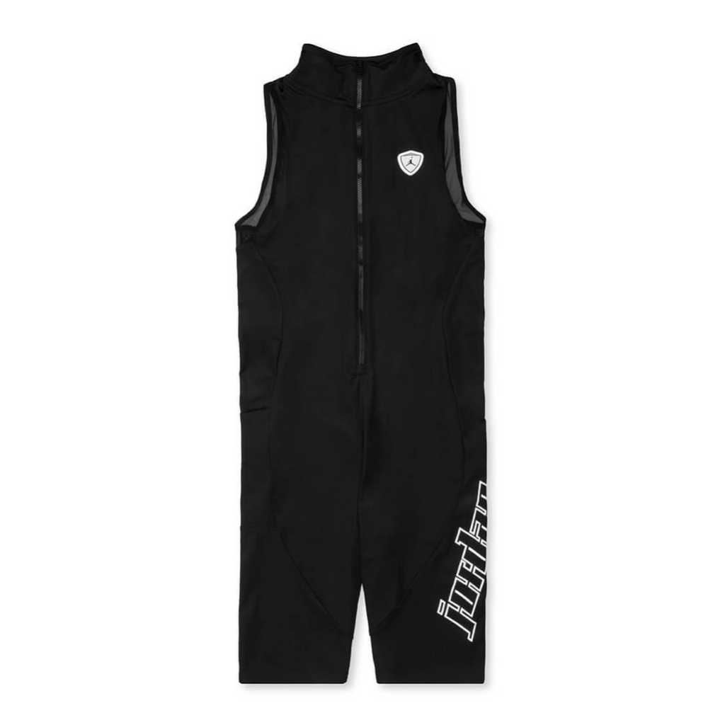 AIR JORDAN WOMEN'S MOTO BODYSUIT - BLACK/ WHITE