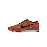 NIKE FLYKNIT RACER - TOTAL ORANGE/ DARK GREY