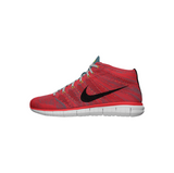 NIKE FREE FLYKNIT CHUKKA - BRIGHT CRIMSON/ LIGHT ASH