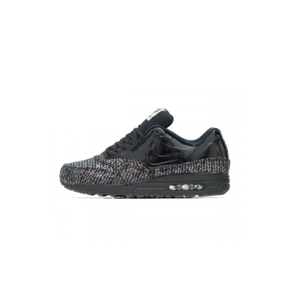 NIKE WOMENS AIR MAX 1 VT QS - BLACK/ METALLIC SILVER
