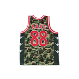 BAPE ABC BASKETBALL TANK - GREEN