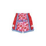 BAPE ABC BASKETBALL SHORTS - PINK