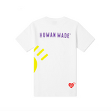 HUMAN MADE BIG MULTI PRINT T-SHIRT - WHITE