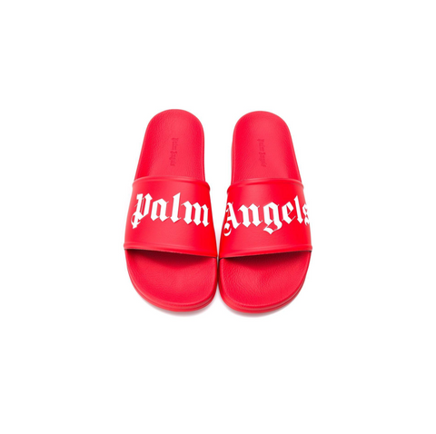 PALM ANGELS POOL SLIDER - RED