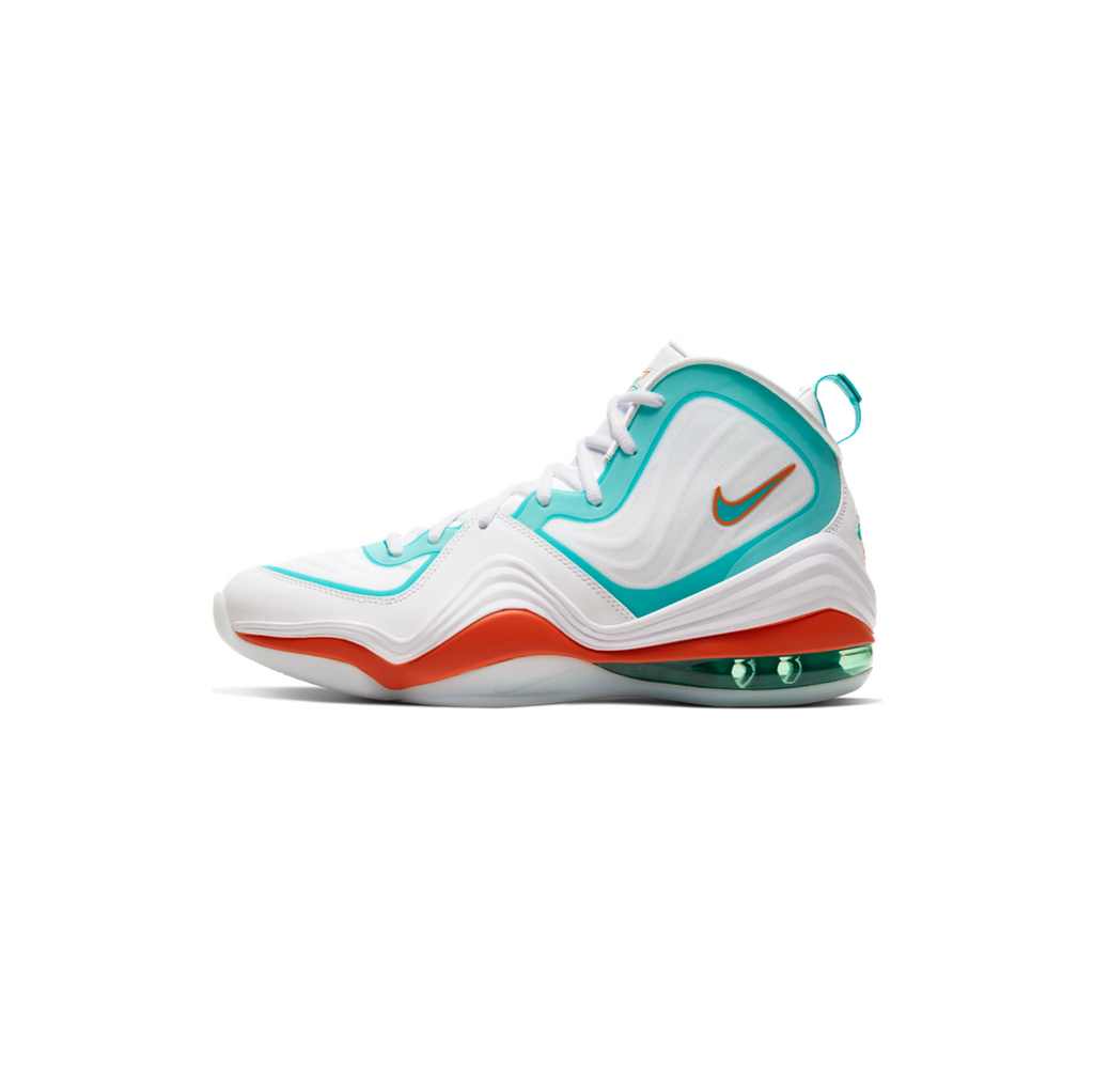 NIKE AIR PENNY V - WHITE/ ORACLE AQUA
