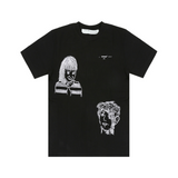OFF-WHITE LITTLE GIRL S/S SLIM TEE - BLACK/ MULTI