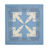 OFF-WHITE BANDANA -  BLUE