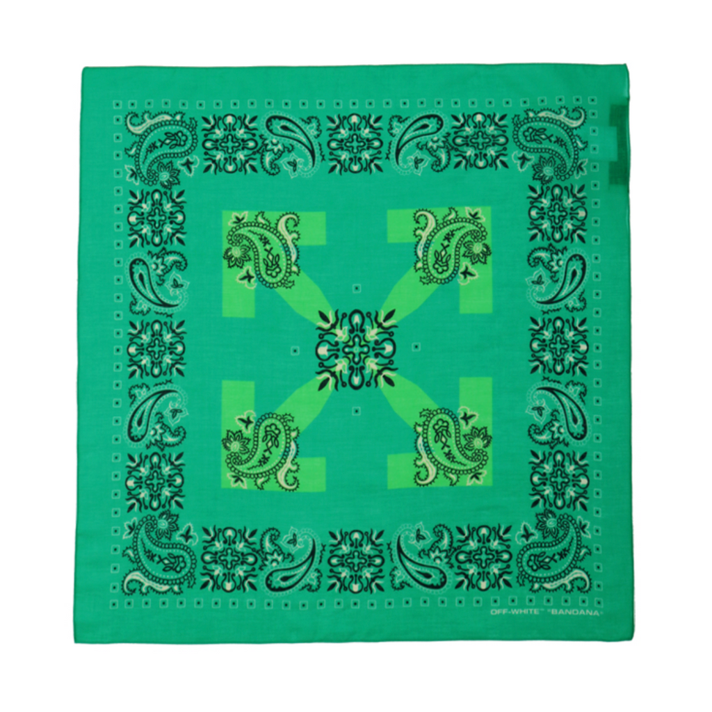 OFF-WHITE BANDANA -  MINT