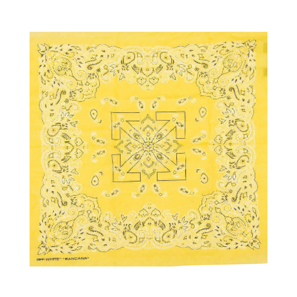 OFF-WHITE BANDANA -  YELLOW