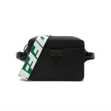 OFF-WHITE RIPSTOP CAMERA BAG -  BLACK