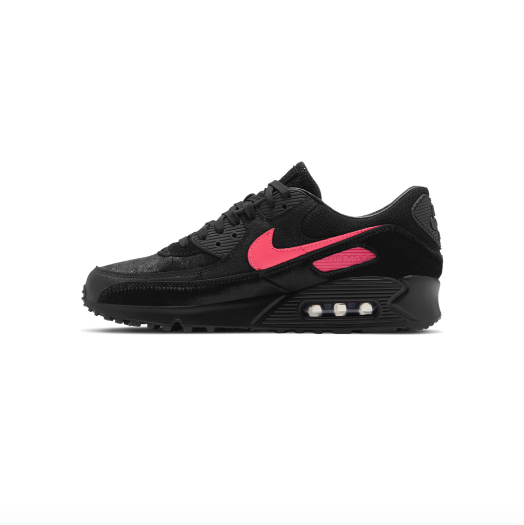 NIKE AIR MAX 90 - BLACK/ INFRARED
