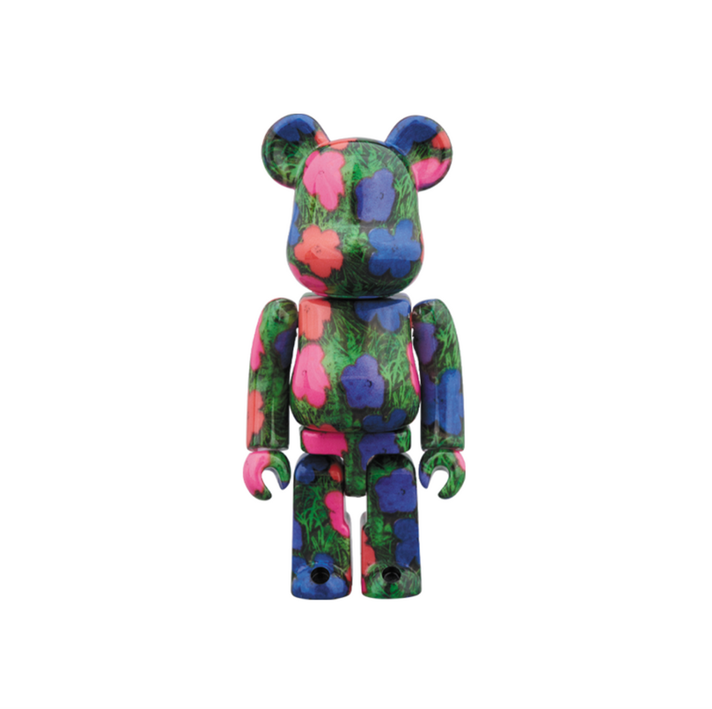"MEDICOM ANDY WARHOL ""FLOWERS"" BE@RBRICK 1000% - MULTI"