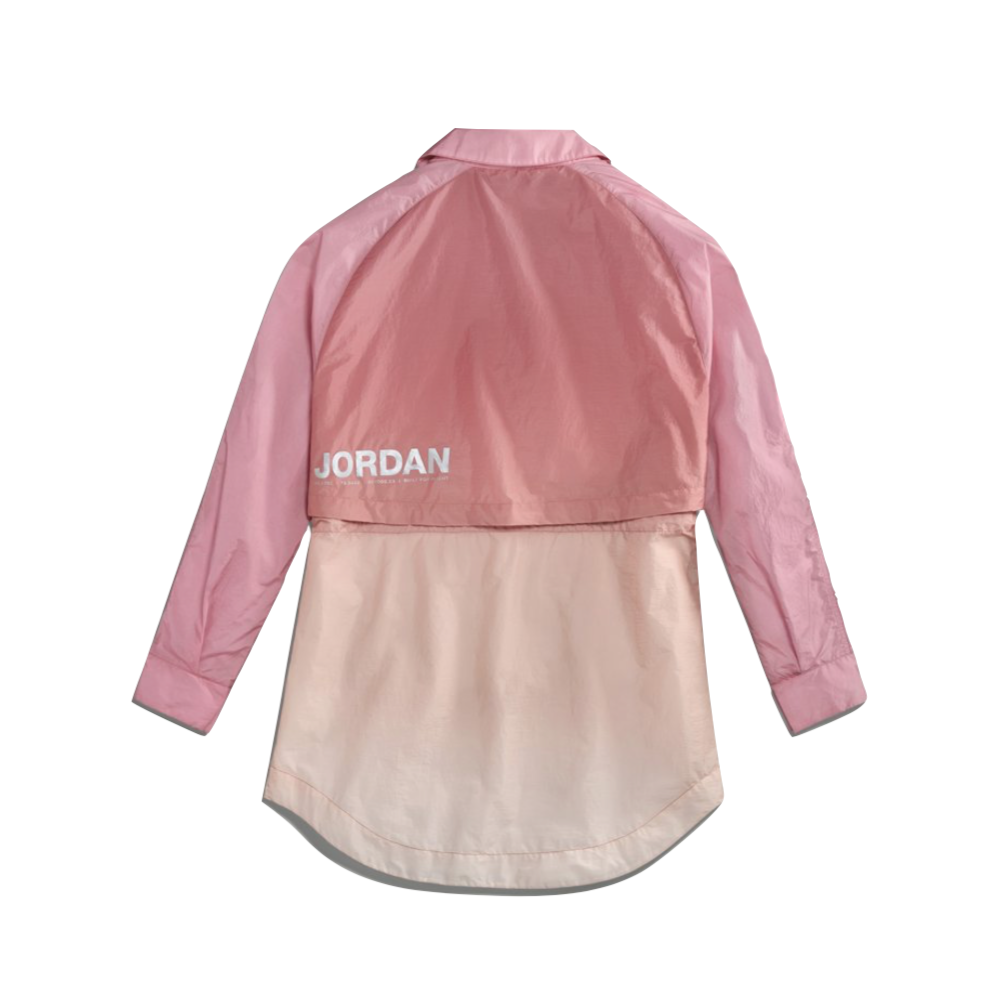 AIR JORDAN WOMEN'S WINDBREAKER - DESERT BERRY