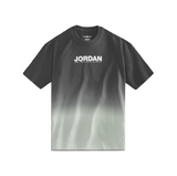 AIR JORDAN WOMEN'S FADE TEE - PARTICLE GREY/ BLACK