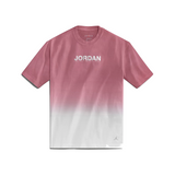 AIR JORDAN WOMEN'S FADE TEE - WHITE/ DESERT BERRY
