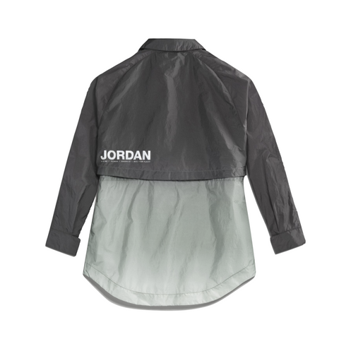 AIR JORDAN WOMEN'S WINDBREAKER - BLACK