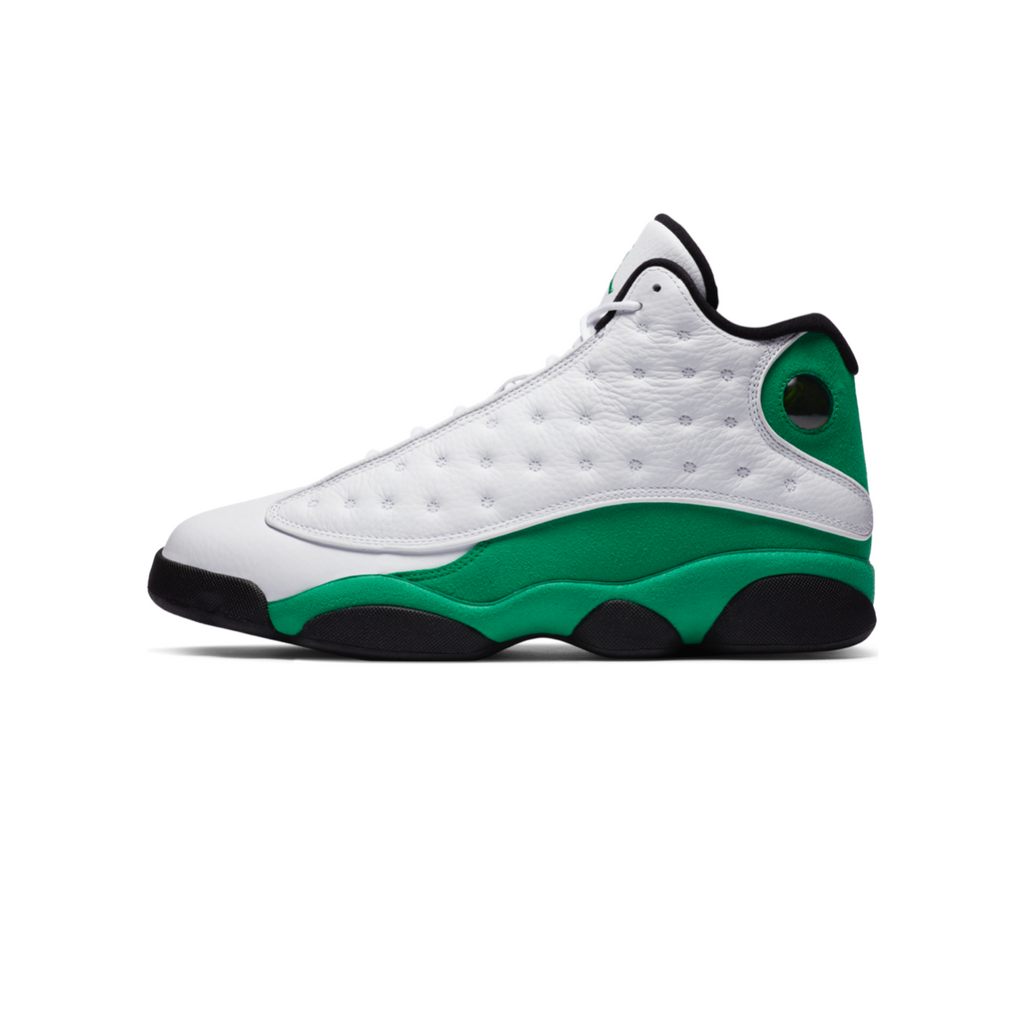 AIR JORDAN 13 RETRO - WHITE/ LUCKY GREEN