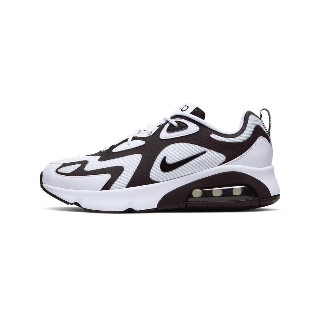 NIKE AIR MAX 200 - WHITE/ BLACK
