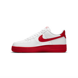 NIKE AIR FORCE 1 '07 - WHITE/ UNIVERSITY RED -WHITE