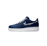 NIKE AIR FORCE 1 LV8 1 GS - BLUE VOID/ WHITE