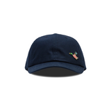 HUMAN MADE 6 PANEL TWILL CAP #4 - NAVY
