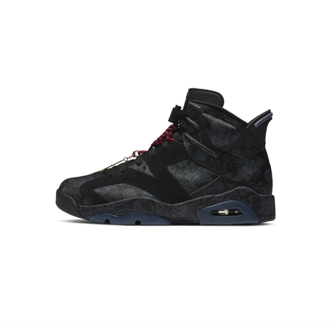 WOMEN'S AIR JORDAN 6 RETRO SD - BLACK